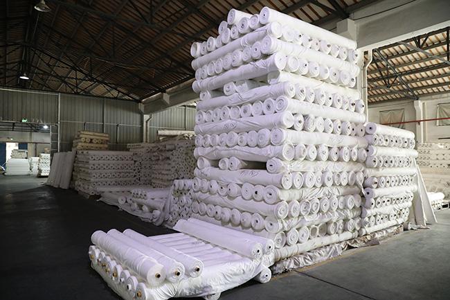 纺织产品放置